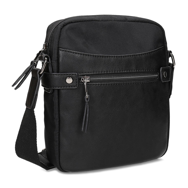 Pánska čierna Crossbody taška