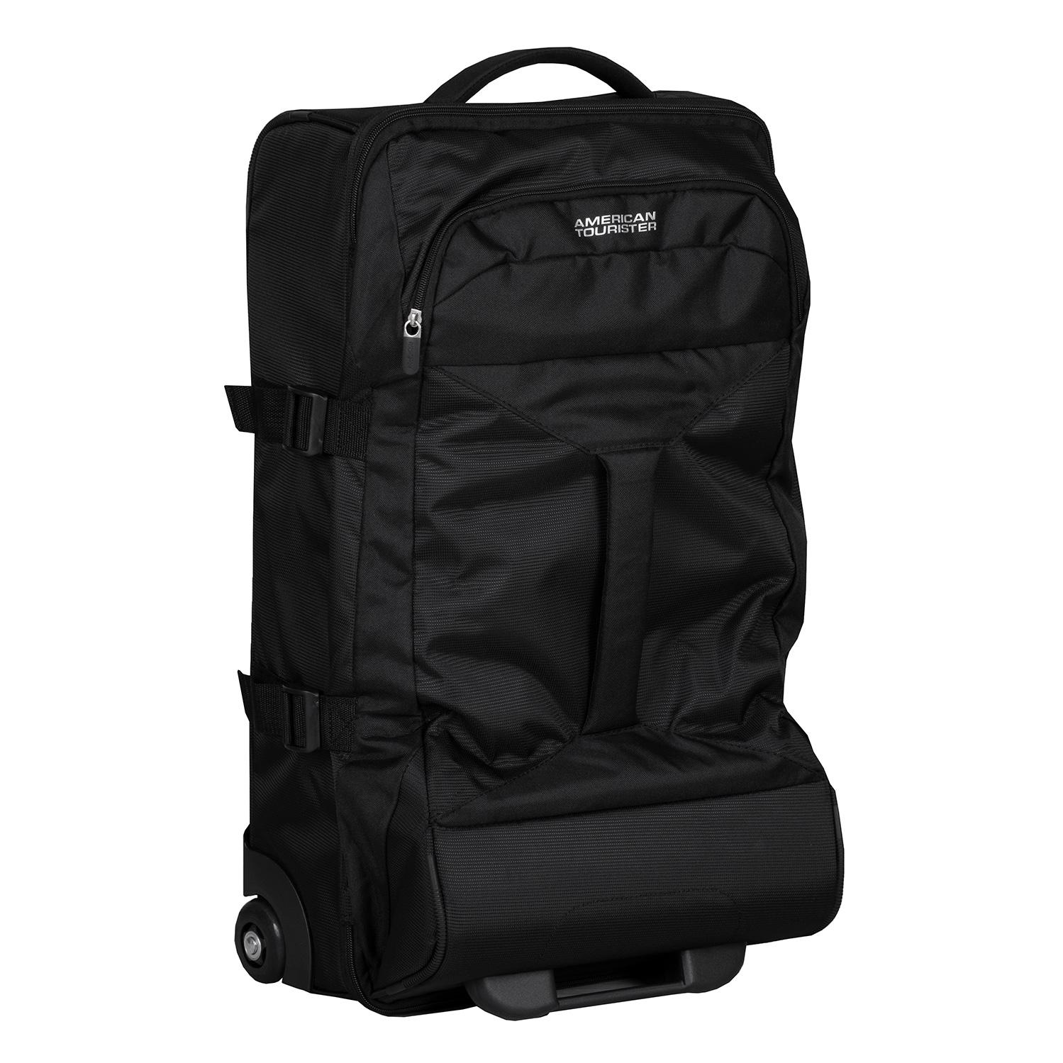 Čierna cestovná taška na kolieskach