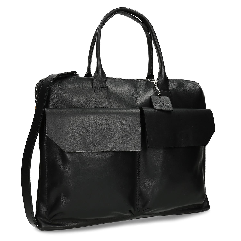 Čierna taška na notebook unisex