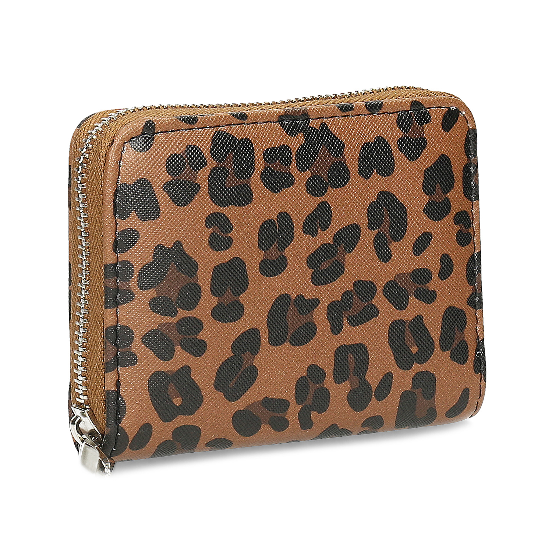 Dámska peňaženka s leopardím vzorom