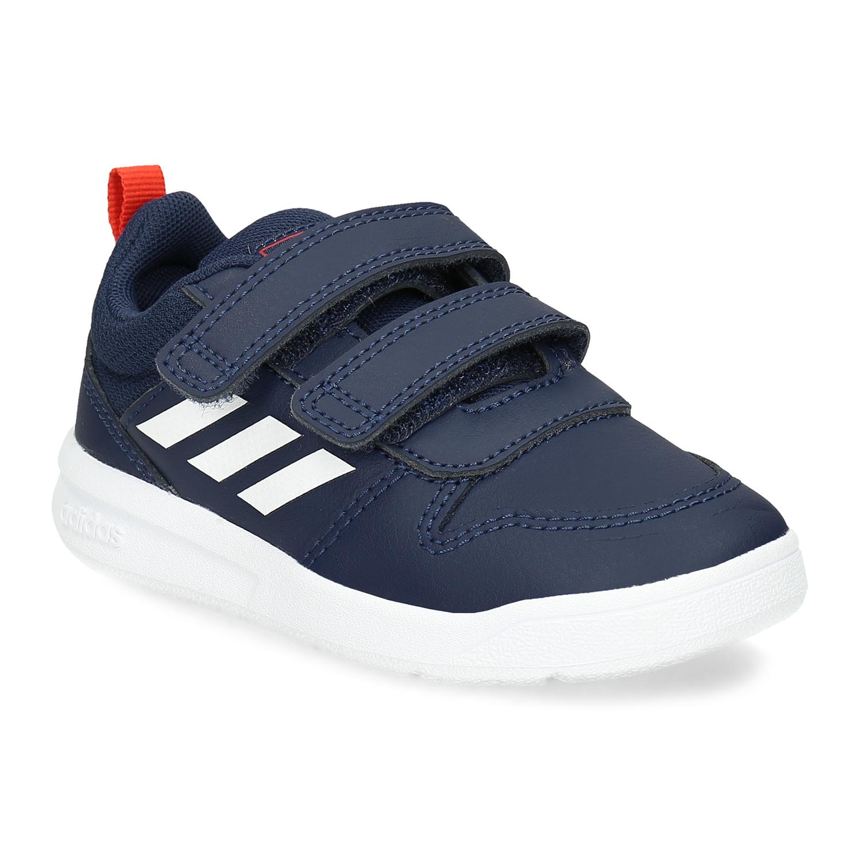 Modré detské tenisky na suchý zips
