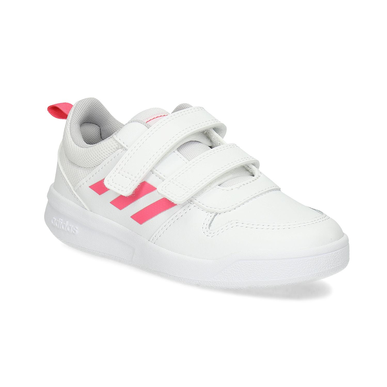 Biele detské tenisky na suché zipsy